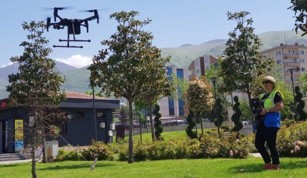Kaçak yapı tespitine denetçi drone çözümü