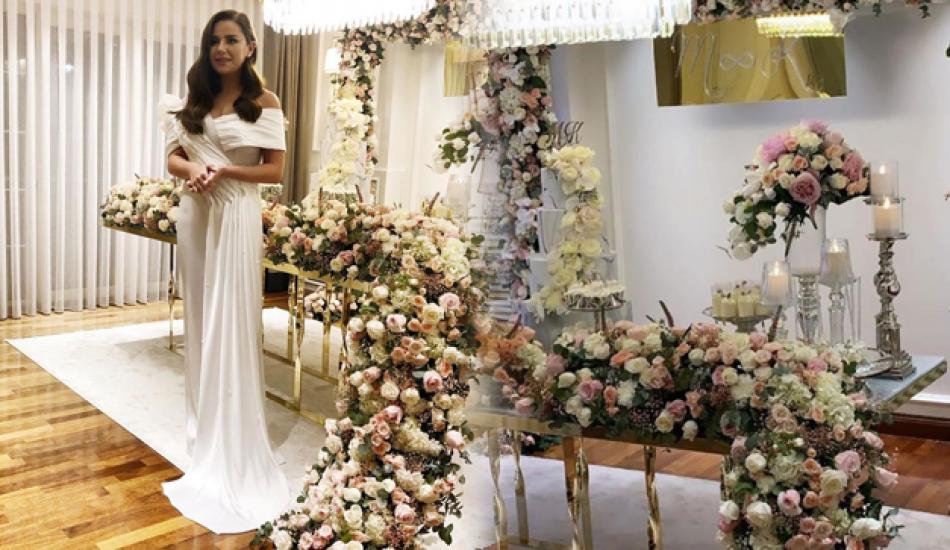 Ünlü şarkıcı Merve Özbey, Kenan Koçak ile nişanlandı