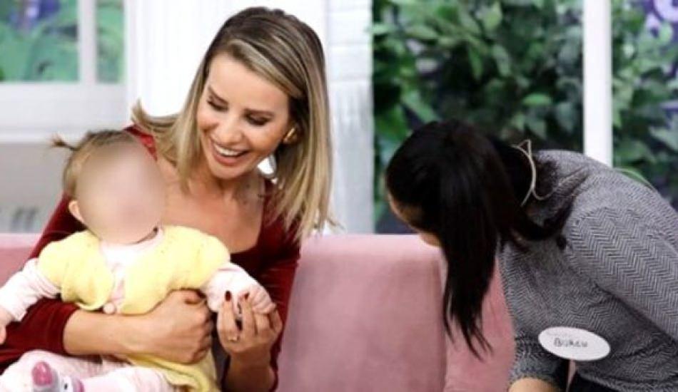 11 aylık bebeğine Esra Erol sayesinde kavuştu