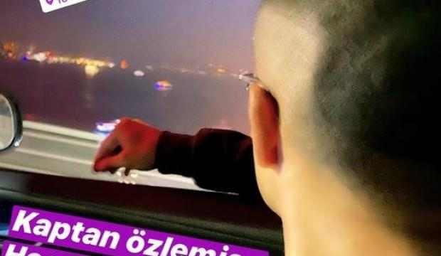 Alex de Souza İstanbul'a geldi
