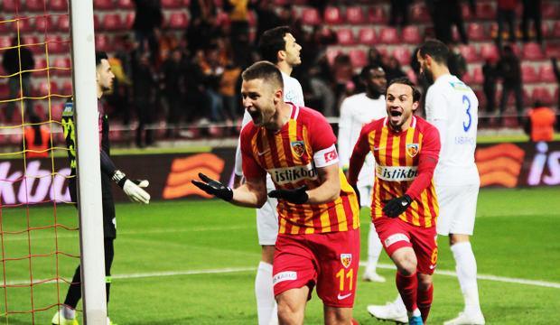 Kayserispor'dan hayati galibiyet!