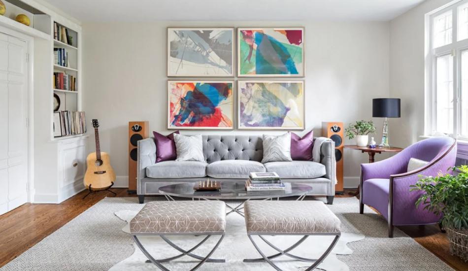 Küçük odalar için salon dekorasyon fikirleri 2020