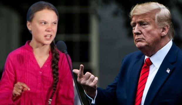 Trump'tan Greta'ya: Sakin ol Greta, sakin
