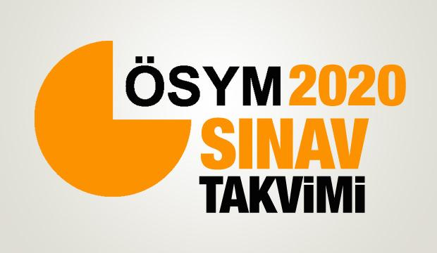 2020 ÖSYM sınav takvimi: KPSS, YKS, ALES, DGS, YÖKDİL sınavı başvuru tarihleri...