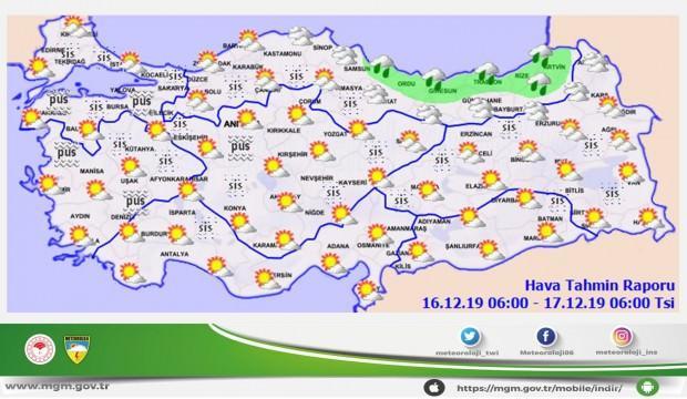 Meteoroloji'den İstanbul için peş peşe son dakika uyarıları