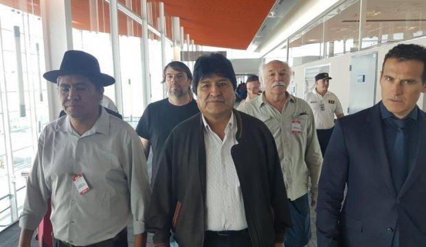 Morales'ten darbe açıklaması: Söylediler önemsemedim