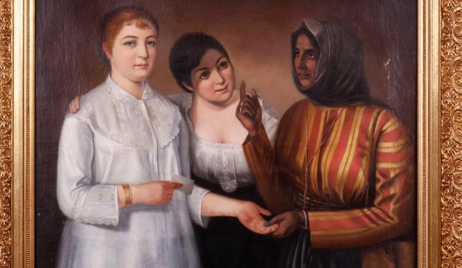 Osmanlı'nın Ermeni Ressamları Sergisi ilk kez sergileniyor