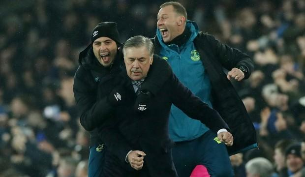 Ancelotti'nin ilk maçında Everton galip geldi