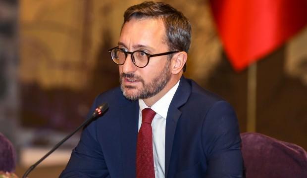İletişim Başkanı Altun'dan Gazeteciler Günü mesajı