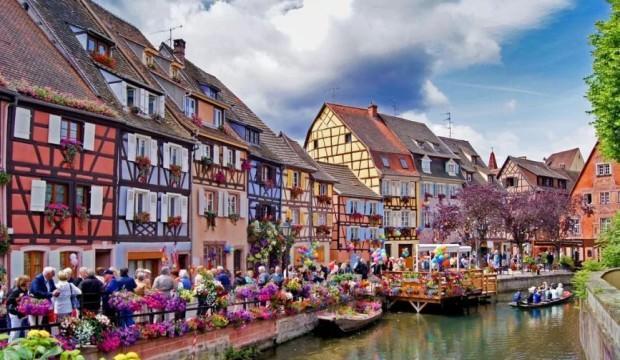 Fransa'nın masallar köyü Colmar'da gezilecek yerler
