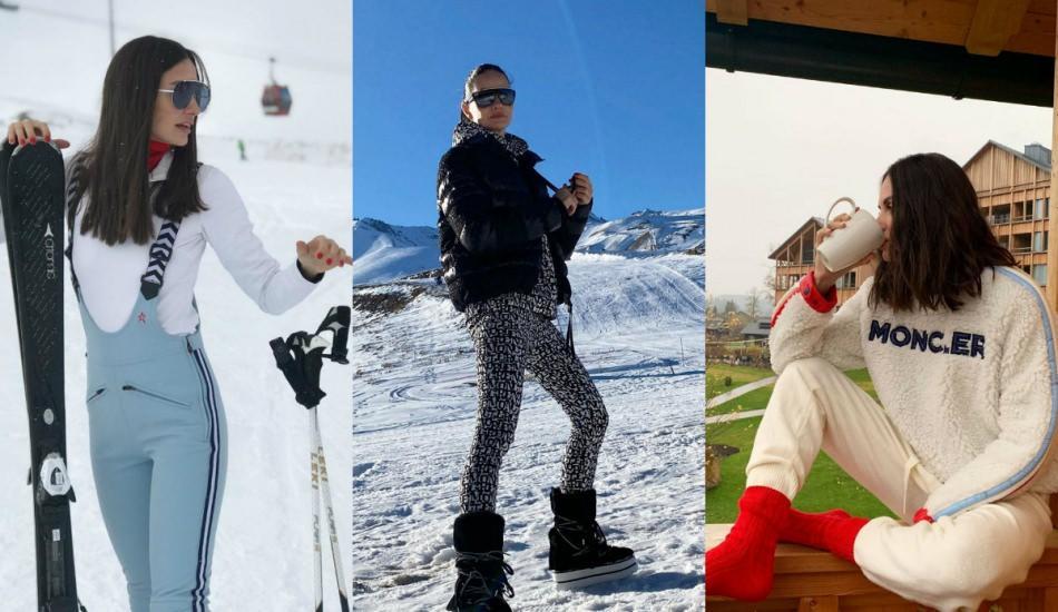 Ekranların Doktor Ela'sı Yasemin Özilhan stiliyle kış tatili kombinleri