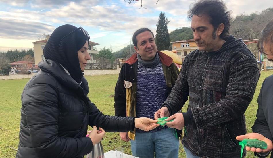 Nuray Karpuzcu'dan sanatçı Kıraç'a ata tohumu!