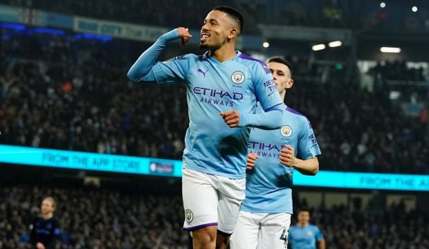 Cenk'siz Everton'ı Gabriel Jesus yıktı!