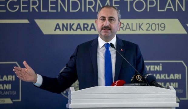 Adalet Bakanı Gül'den Bülent Arınç'a cevap
