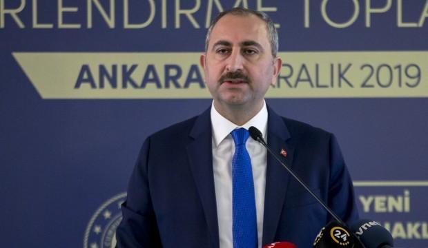 Adalet Bakanı Gül'den FETÖ'yle mücadele mesajı: Sızmalara izin vermeyeceğiz