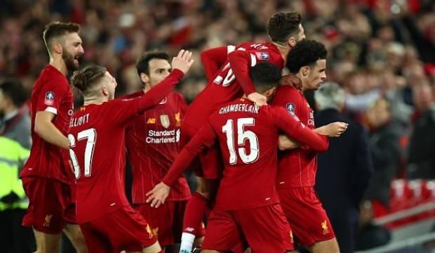 Liverpool, FA Kupası'nda 4. tura çıktı