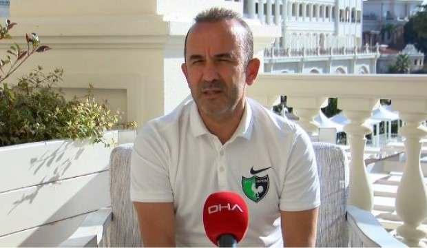 Mehmet Özdilek: 'Hedefimiz ligde kalmak'