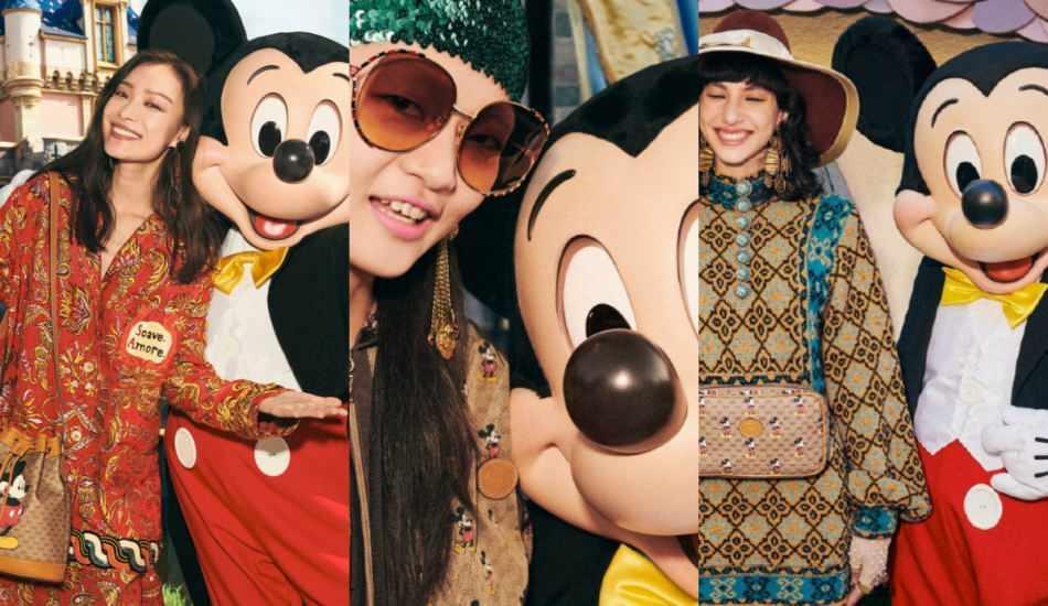 2020 Gucci Mickey Mouse ürünleri