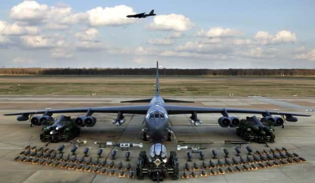 ABD Hint Okyanusu'na nükleer kapasiteli uçak gönderiyor