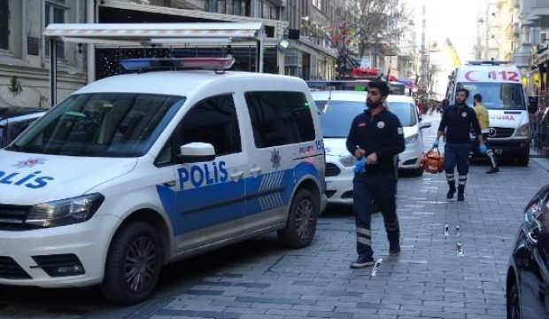 Beyoğlu'nda İranlıların bıçaklı kavgası:  2 yaralı