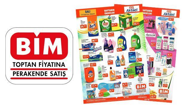 BİM aktüel 14 Ocak indirimli ürün kataloğu! Temizlik malzemelerinde büyük fırsat