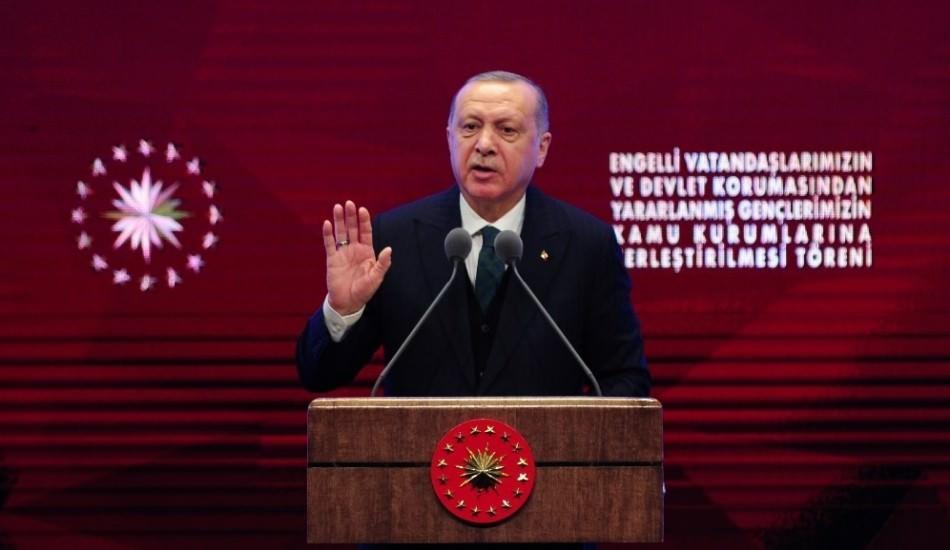 Cumhurbaşkanı Erdoğan günümüz dizilerin evlilik dışı hayatı özendirmesine sert çıktı