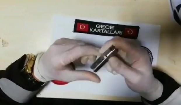 İstanbul'da ele geçirilen suikast silahı şaşkına çevirdi