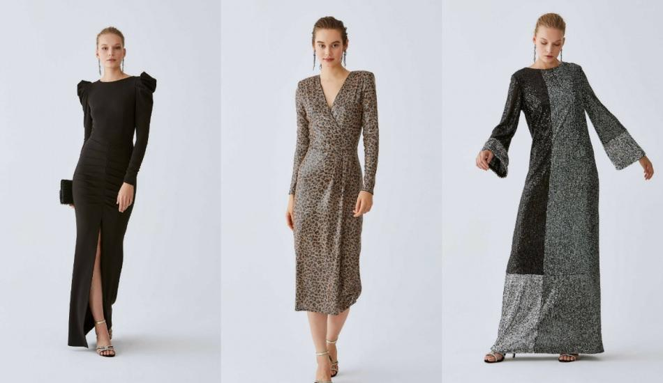 Kış abiye elbise modelleri 2020