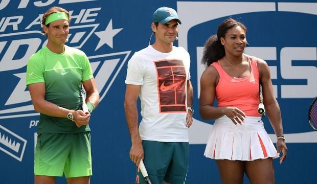 Yıldız tenisçiler Avustralya'daki yangın mağdurları için korta çıkacak