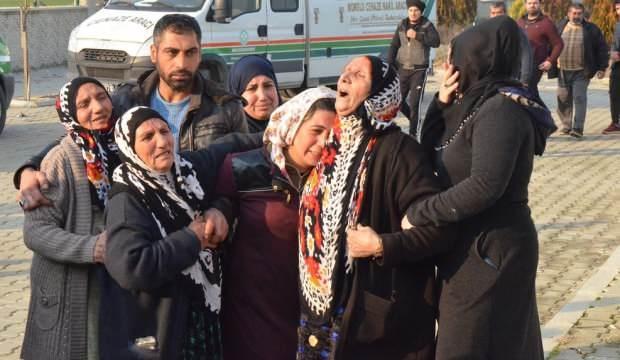 6'sı çocuk 8 göçmen Manisa'da toprağa verildi