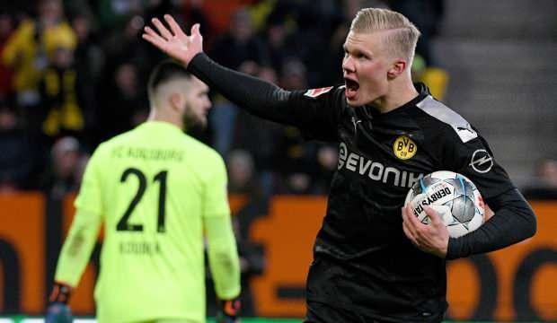 8 gollü maçta Erling Haaland şov!