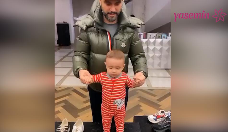Alişan ve oğlu Burak'tan Fenerbahçe paylaşımı!