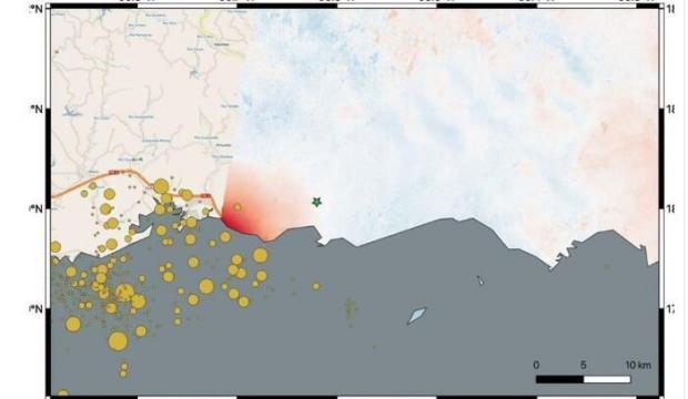 Art arda yaşanan depremler haritaları değiştirdi!