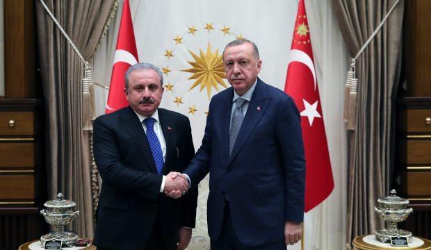 Başkan Erdoğan yeniden TBMM Başkanı seçilen Şentop'u arayıp tebrik etti