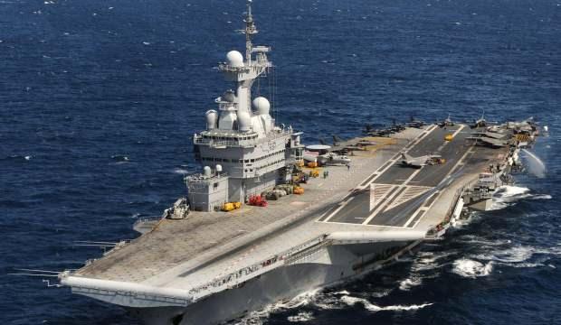 Fransa'dan flaş hamle! Ortadoğu'ya uçak gemisi gönderiyor