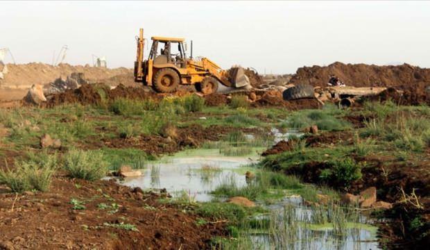 İsrail Filistin'deki tarım arazilerine zarar veriyor
