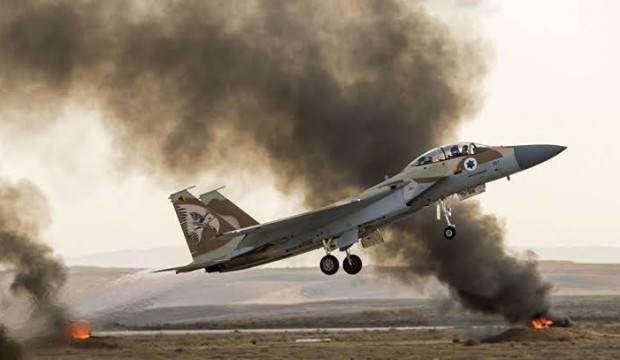 İsrail, Suriye'deki askeri noktaları vurdu