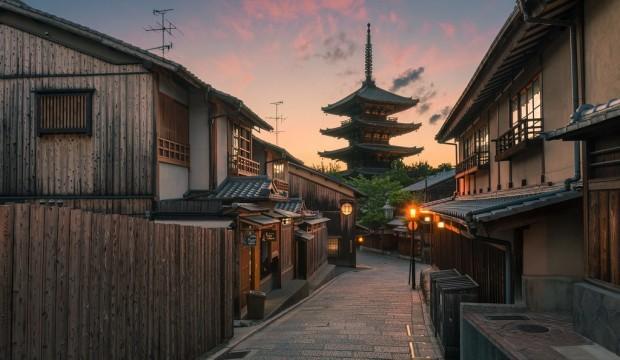 Japonya'nın geleneksel şehri Kyoto'da gezilecek yerler