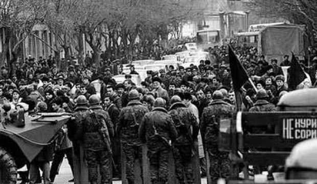 Kanla yazılan tarih: 20 Ocak 1990