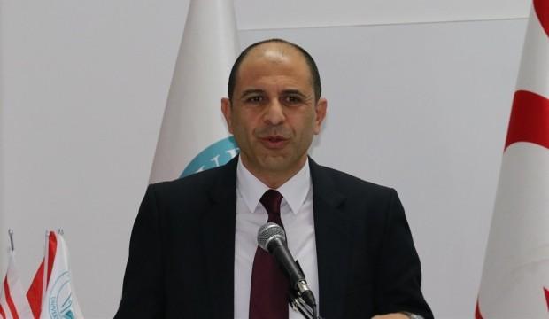 KKTC Dışişleri Bakanı Özersay'dan Yavuz sondaj gemisi açıklaması