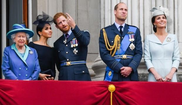 Kraliyet ailesi, Prens Harry-Megan Markle krizi için toplanacak