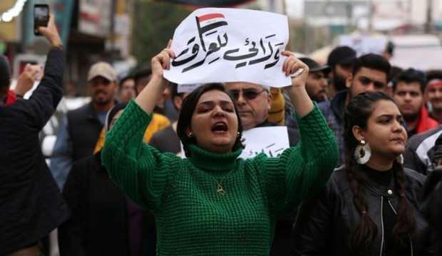 Irak yine karıştı! Yolları kapattılar