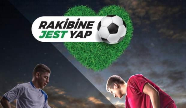 TFF'den 'Rakibine Jest Yap' projesine destek