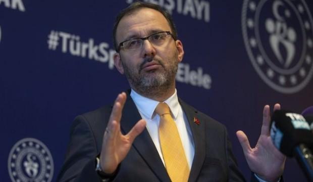 Bakan Kasapoğlu: Türk sporu için milat olacak