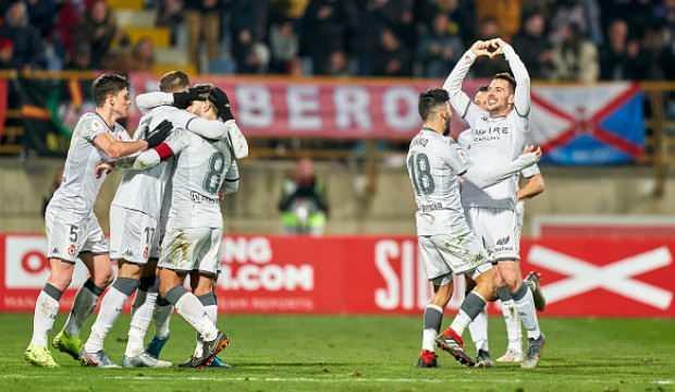 Atletico Madrid, 3. lig takımına elendi