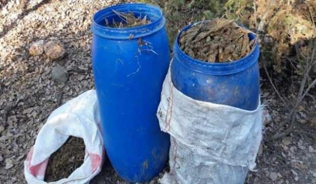 Diyarbakır'da 2 ton 379 kilo esrar ele geçirildi