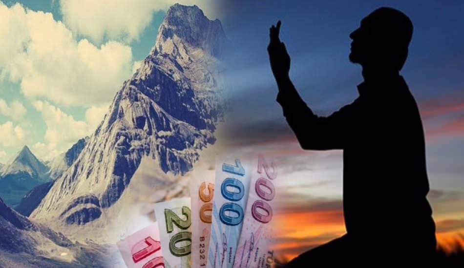 En yakın zamanda borçtan kurtulma duası! Dağ kadar borç ödeyemeyenlere rızık duası
