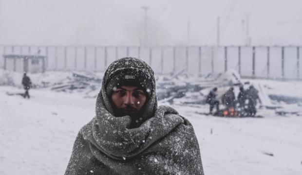Mülteci kampında 5 kişi soğuktan can verdi