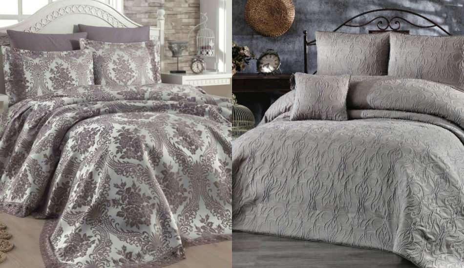 Sezonun en şık yatak örtüsü modelleri ve fiyatları