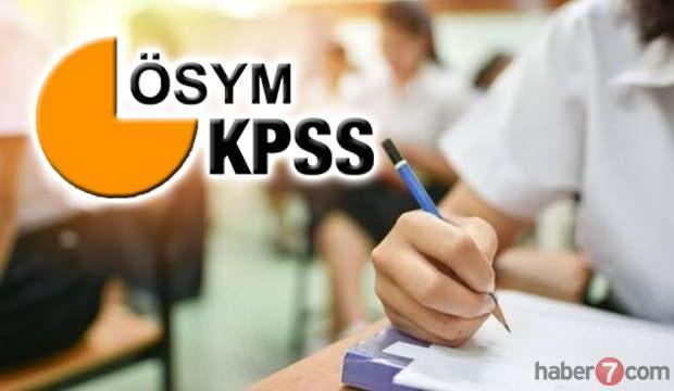 Lise KPSS sınavı ve başvuru tarihi ne zaman? 2020 ÖSYM sınav takvimi